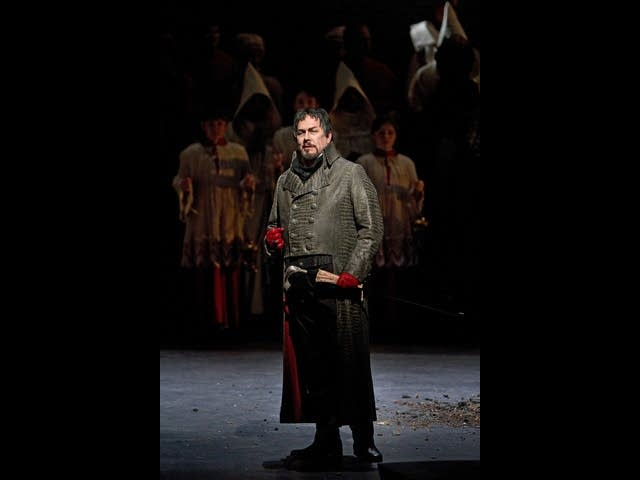 James Morris as Scarpia in Puccini's