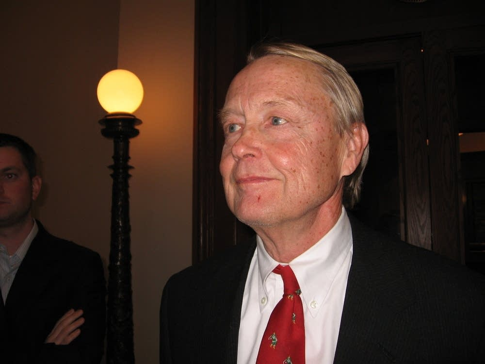 Roger Magnuson, attorney for Norm Coleman