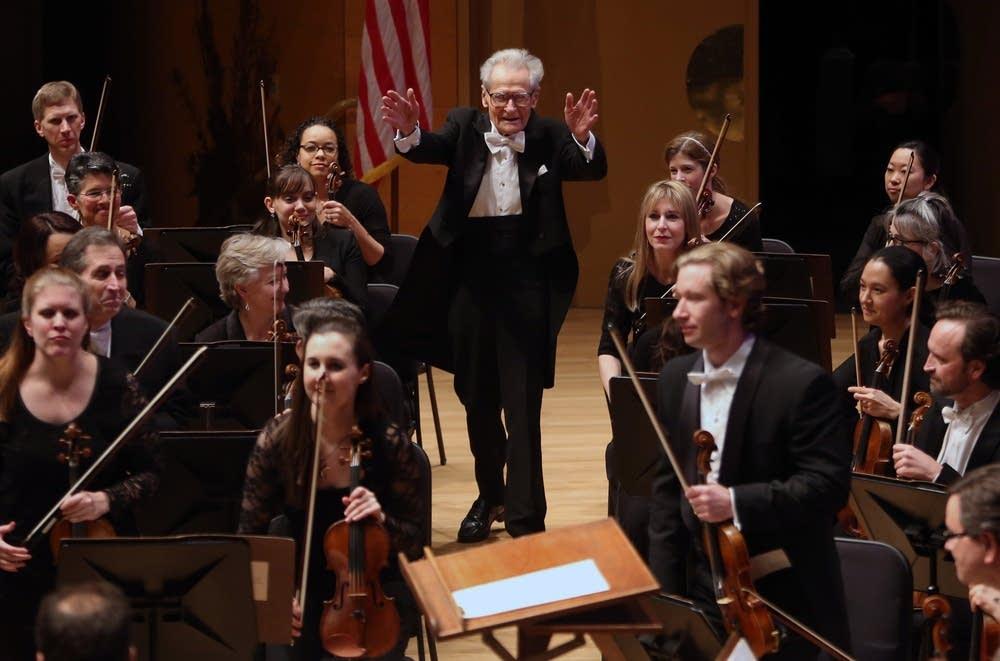 Stanislaw Skrowaczewski orchestra hall 2014