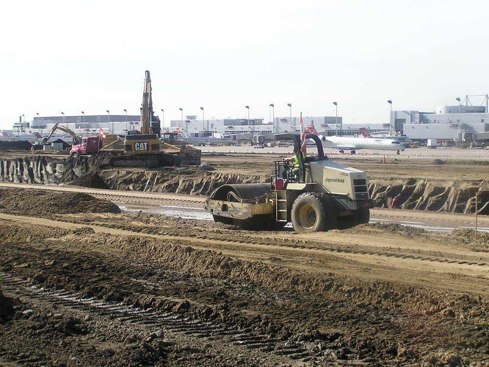 Construction at MSP