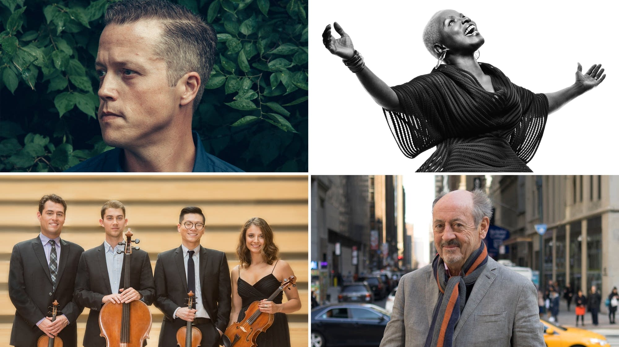 Jason Isbell, Angélique Kidjo, the Dover Quartet, Billy Collins