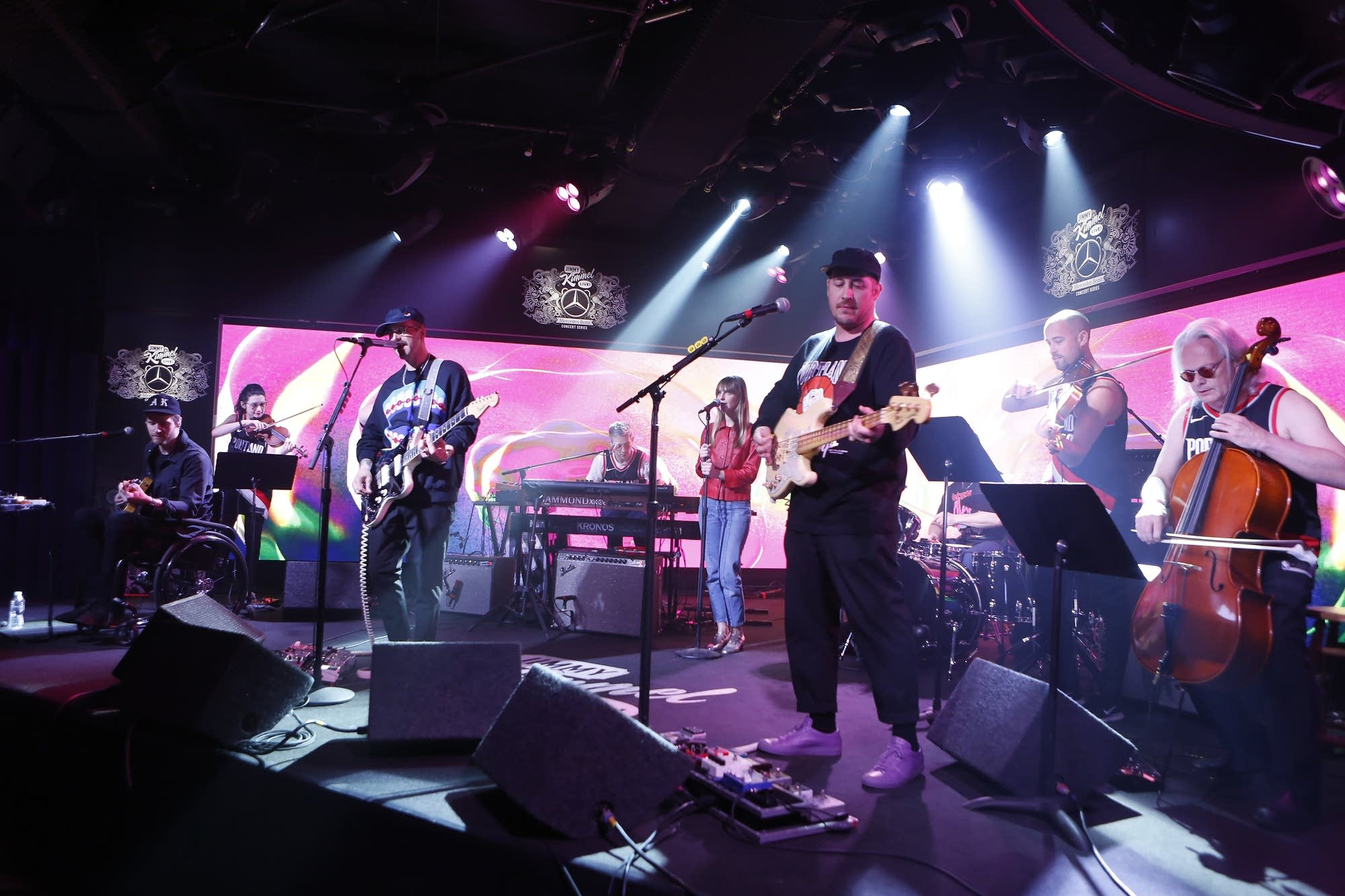 Portugal. The Man on 'Jimmy Kimmel Live'
