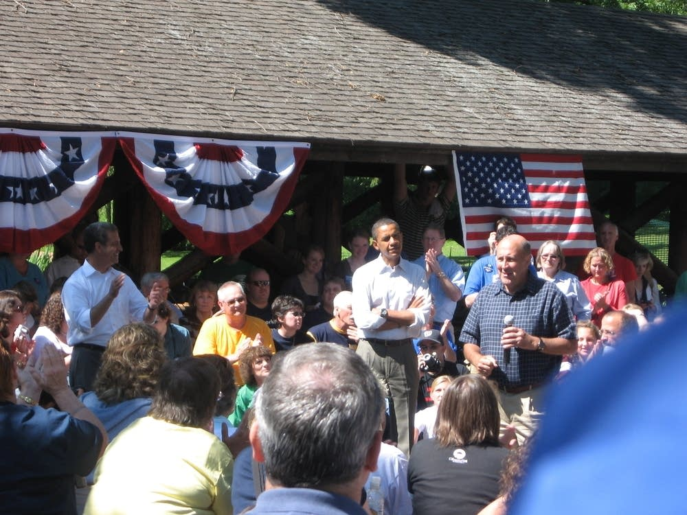 Obama in western Wisconsin