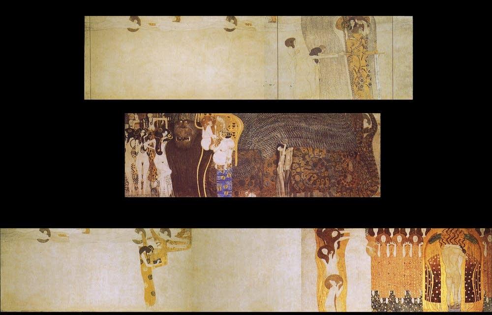 Gustav Klimt\'s Beethoven Frieze   Classical MPR