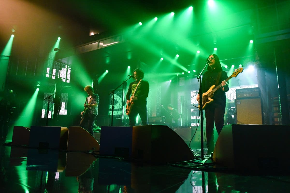 The Raconteurs perform on 'The Late Show with Stephen Colbert'