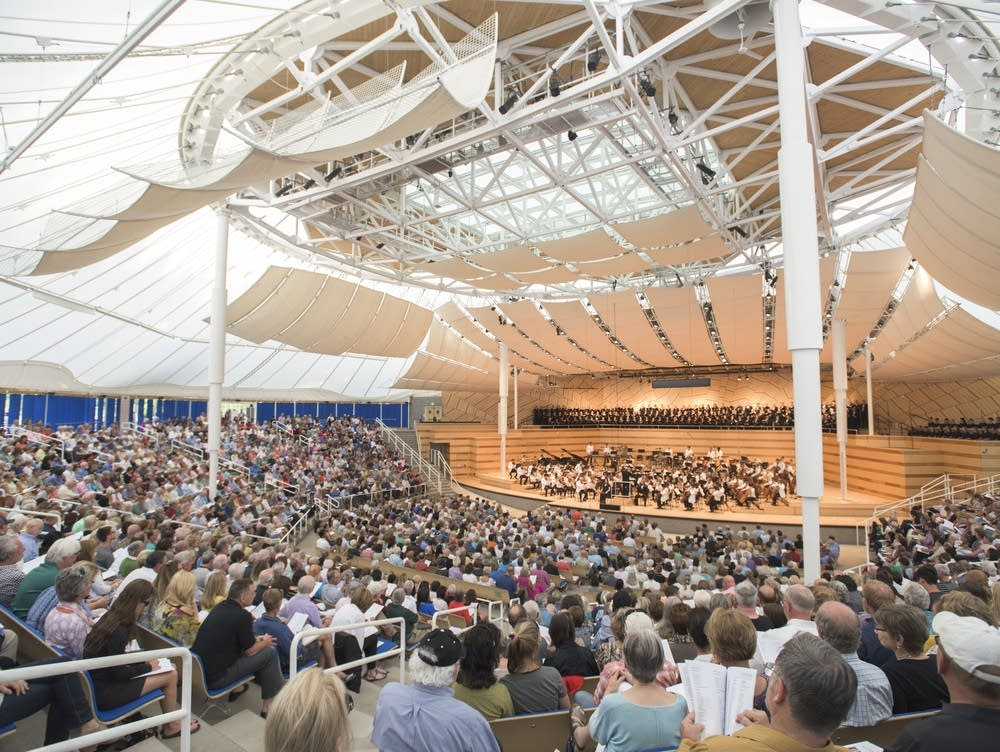 Benedict Music Tent at Aspen Music Festival and School