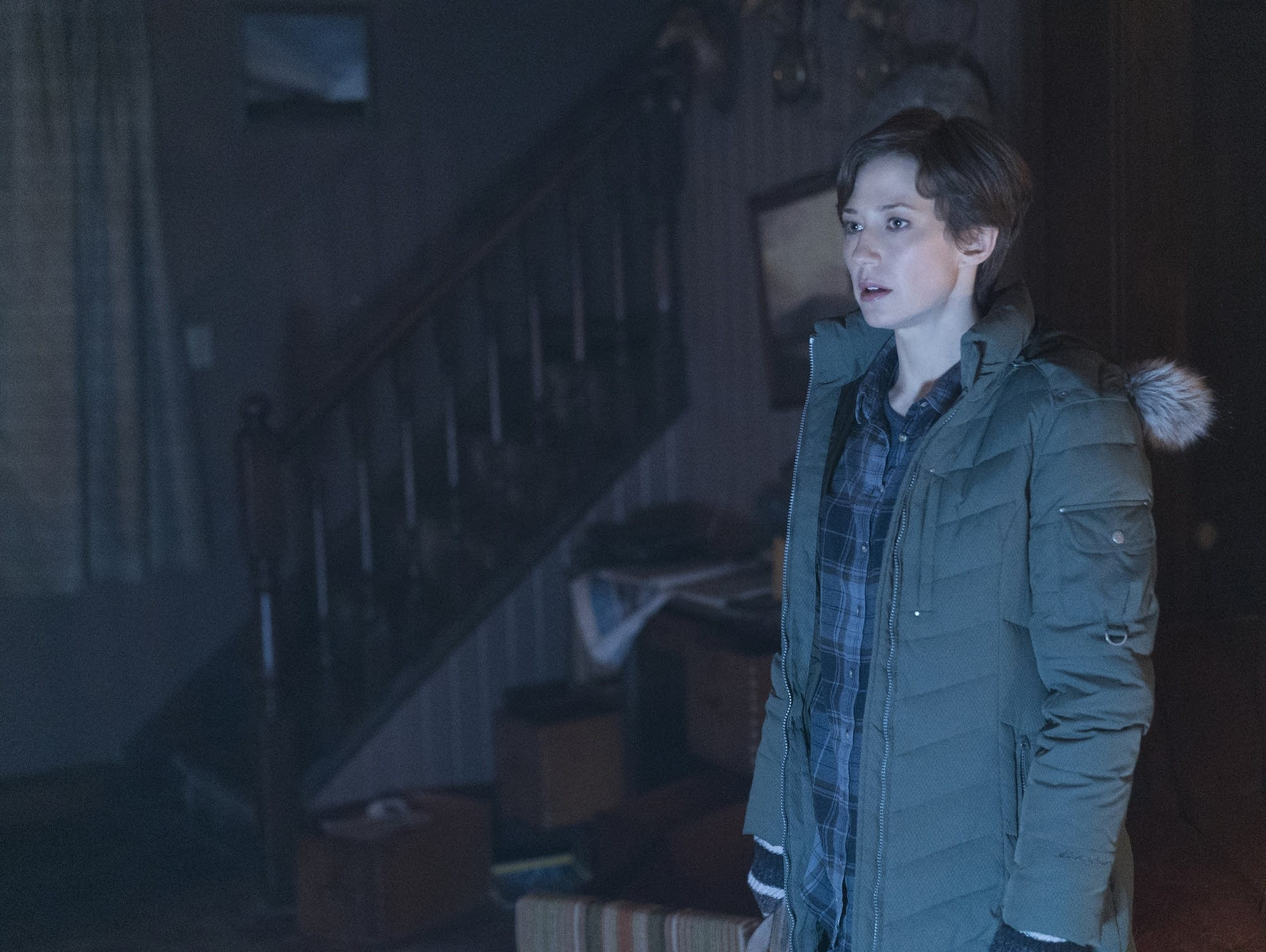 Carrie Coon as Gloria Burgle on 'Fargo'
