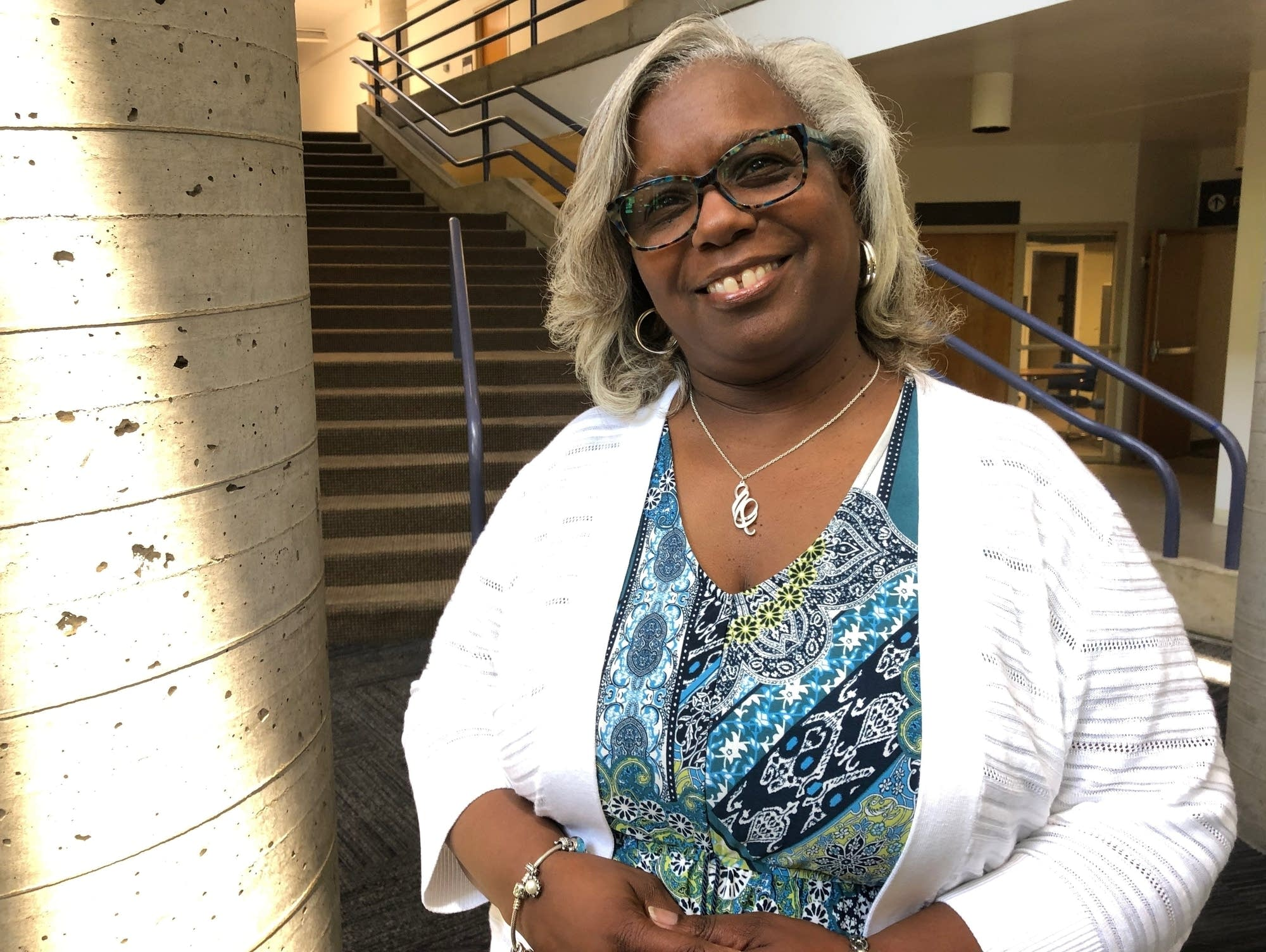 Stephanie Dilworth, chair of Pilgrim Baptist Church's board of trustees.