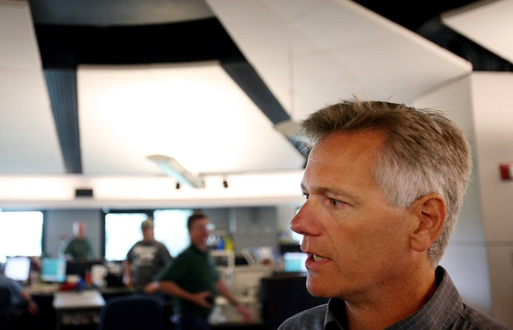 Mark Randolph discusses central control room