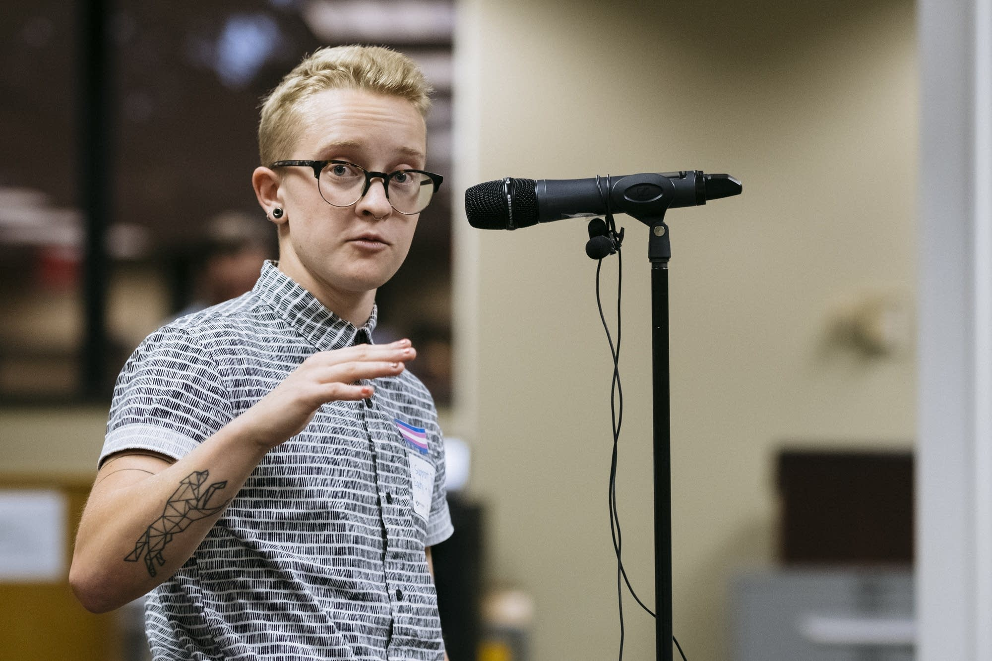 Kasch Meier voices support of the transgender toolkit.