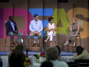 Panelists discuss what's happened post-Charlottesville, 'One Year Later.'