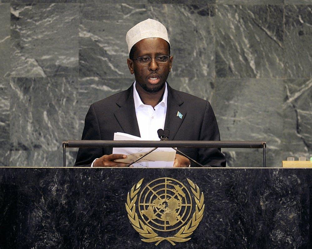 Somali President Sheikh Sharif Sheikh