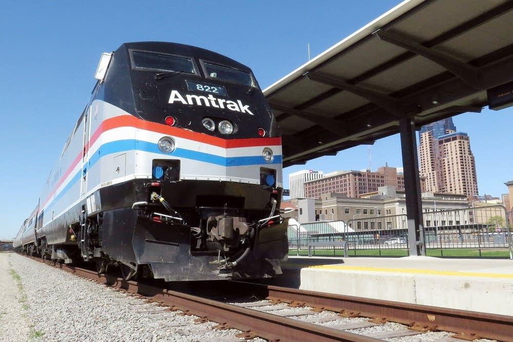 Amtrak's exhibit train