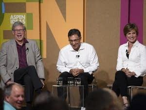 Geoffrey Stone, Neal Katyal, and Sally Yates at the Aspen Ideas Festival.
