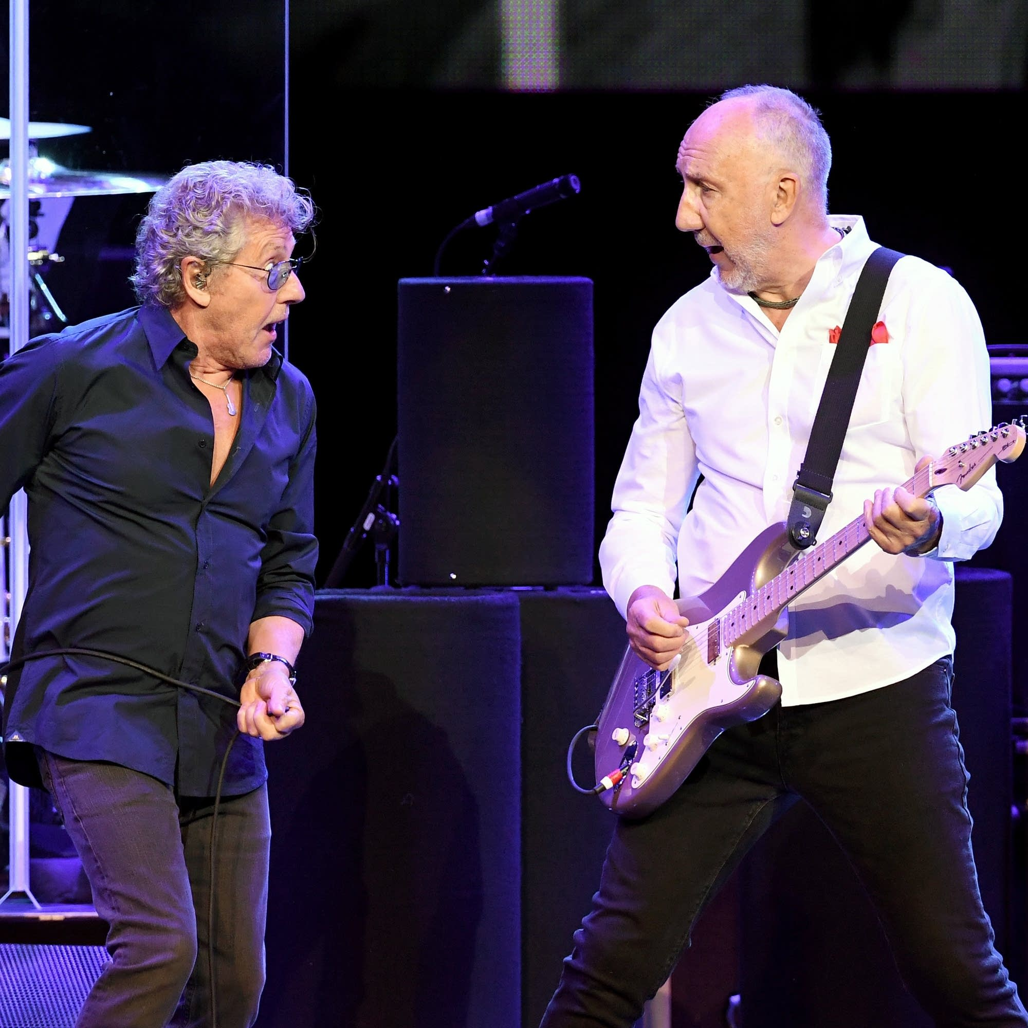 The Who perform in Las Vegas, 2017.