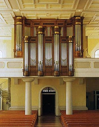 1996 Winterhalter organ at the Church of Our Lady, Achern, Germany