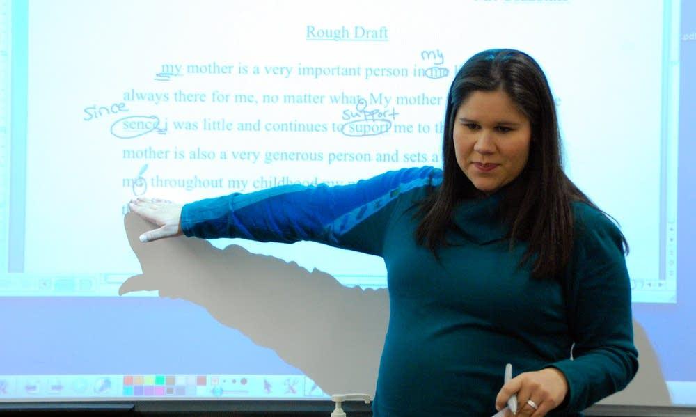 Christina Richardson, special education teacher