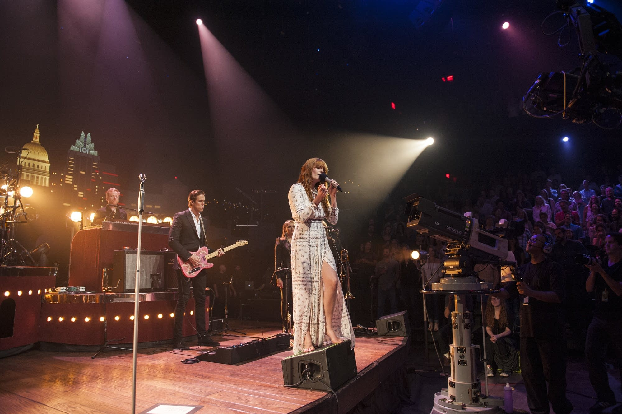 Florence + The Machine perform on 'Austin City Limits'