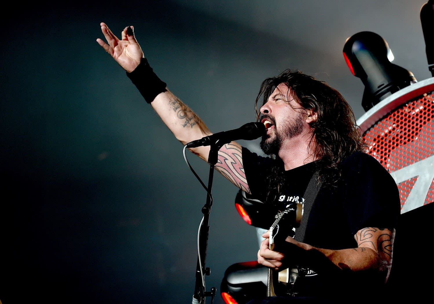 Musician Dave Grohl of the Foo Fighters