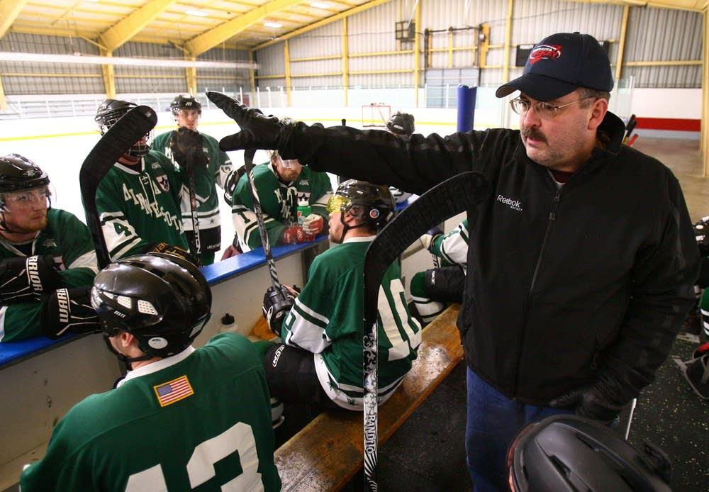 Coach Tim Morris