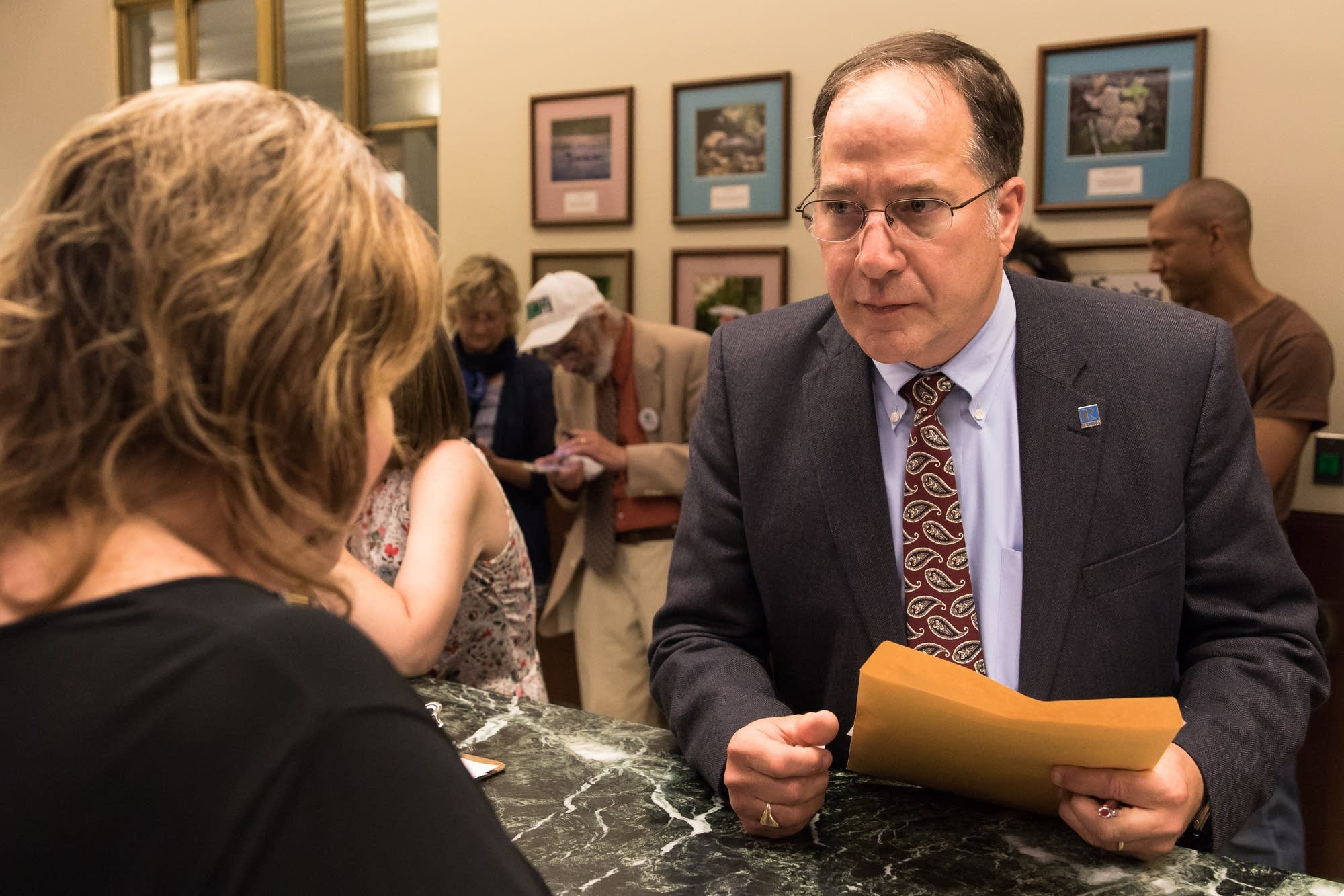 DFL Frank Nelson Drake files to run for congress.