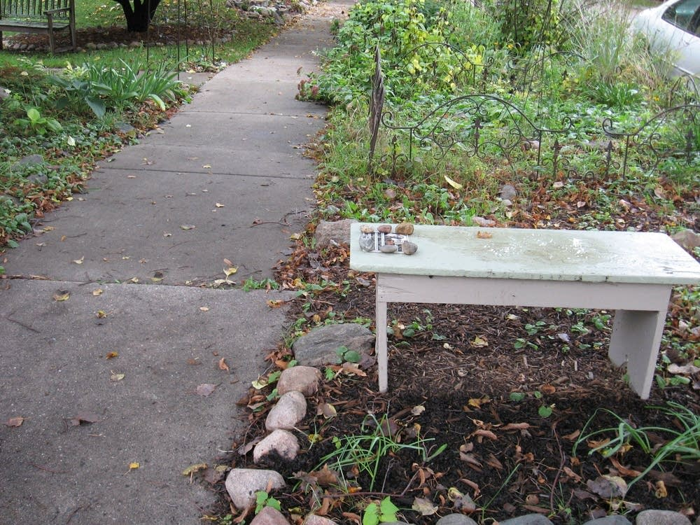 Wellstone bench
