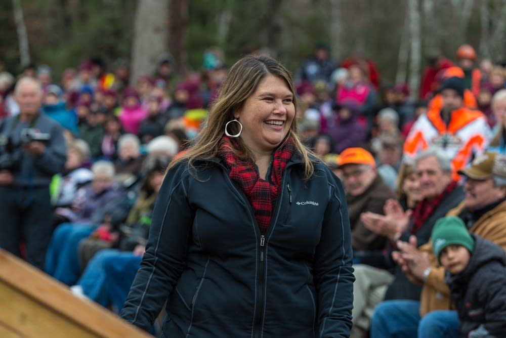 Carri Jones, chairwoman of the Leech Lake Band