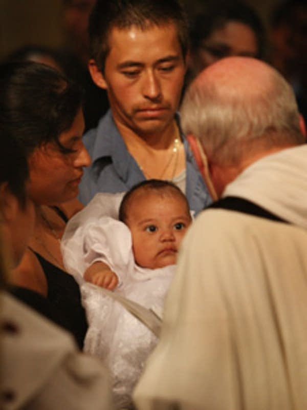 Baptism in a time of tragedy