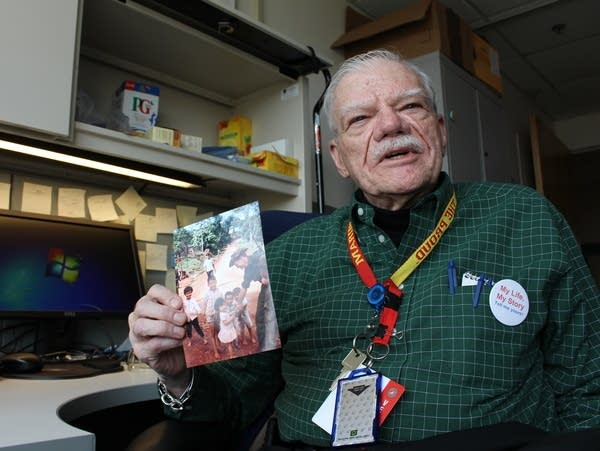 Bob Hall was one of the earliest patients to be interviewed for the project