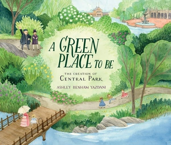 Julie's Library: A Green Place To Be