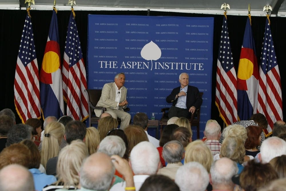 McCain at the Aspen Institute