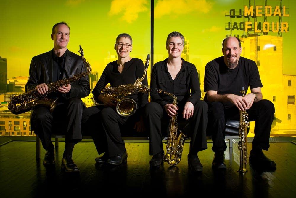 ancia saxophone quartet
