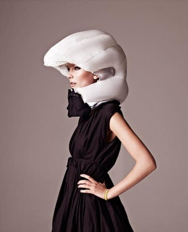 Hovding bicycle helmet airbag