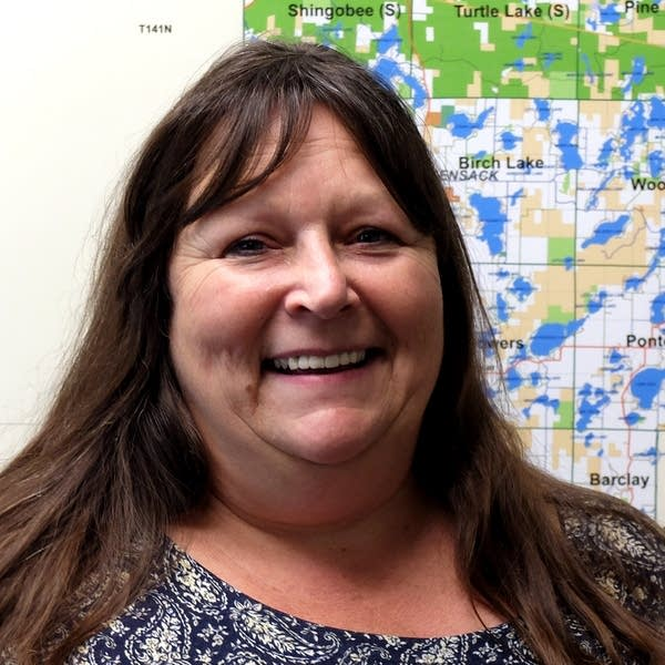 Cass County aquatic invasive species coordinator Rima Smith-Keprios