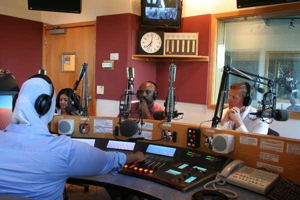 "Zuhur Ahmed, radio host of ""Somali Community Link"""