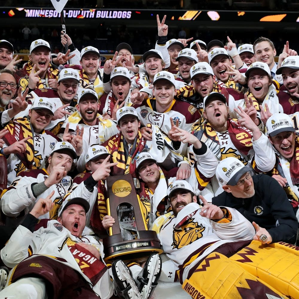College men's hockey: Minnesota Duluth wins second straight title