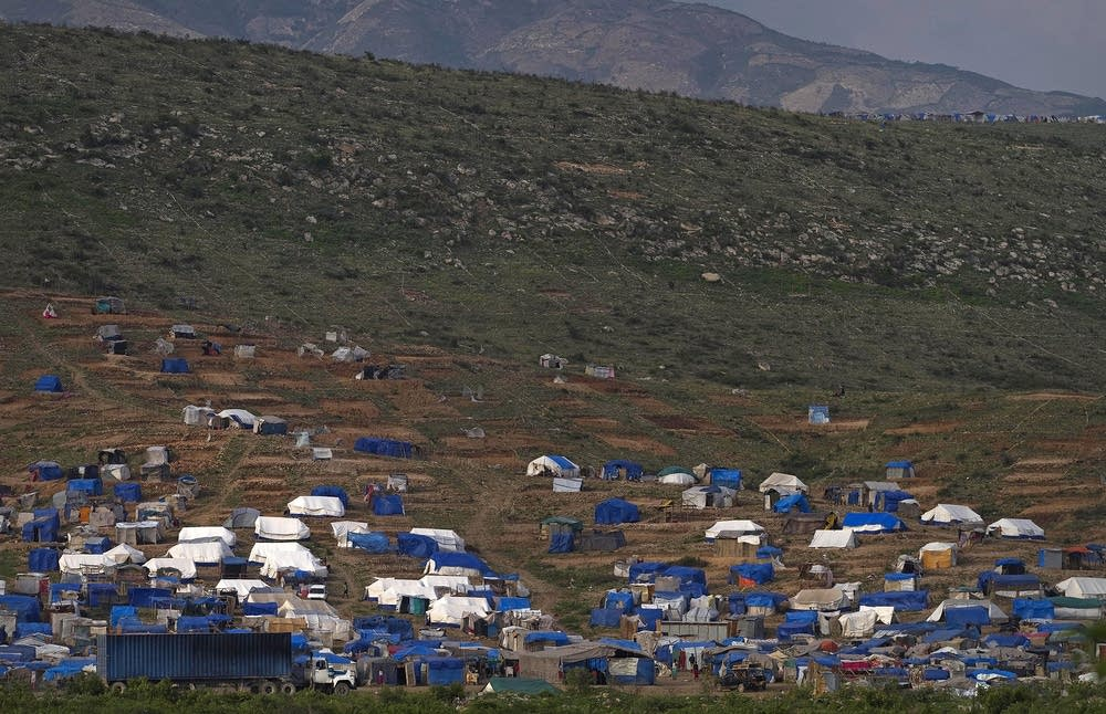 Camp Obama in Haiti
