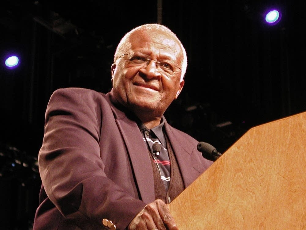 Desmond Tutu speaks