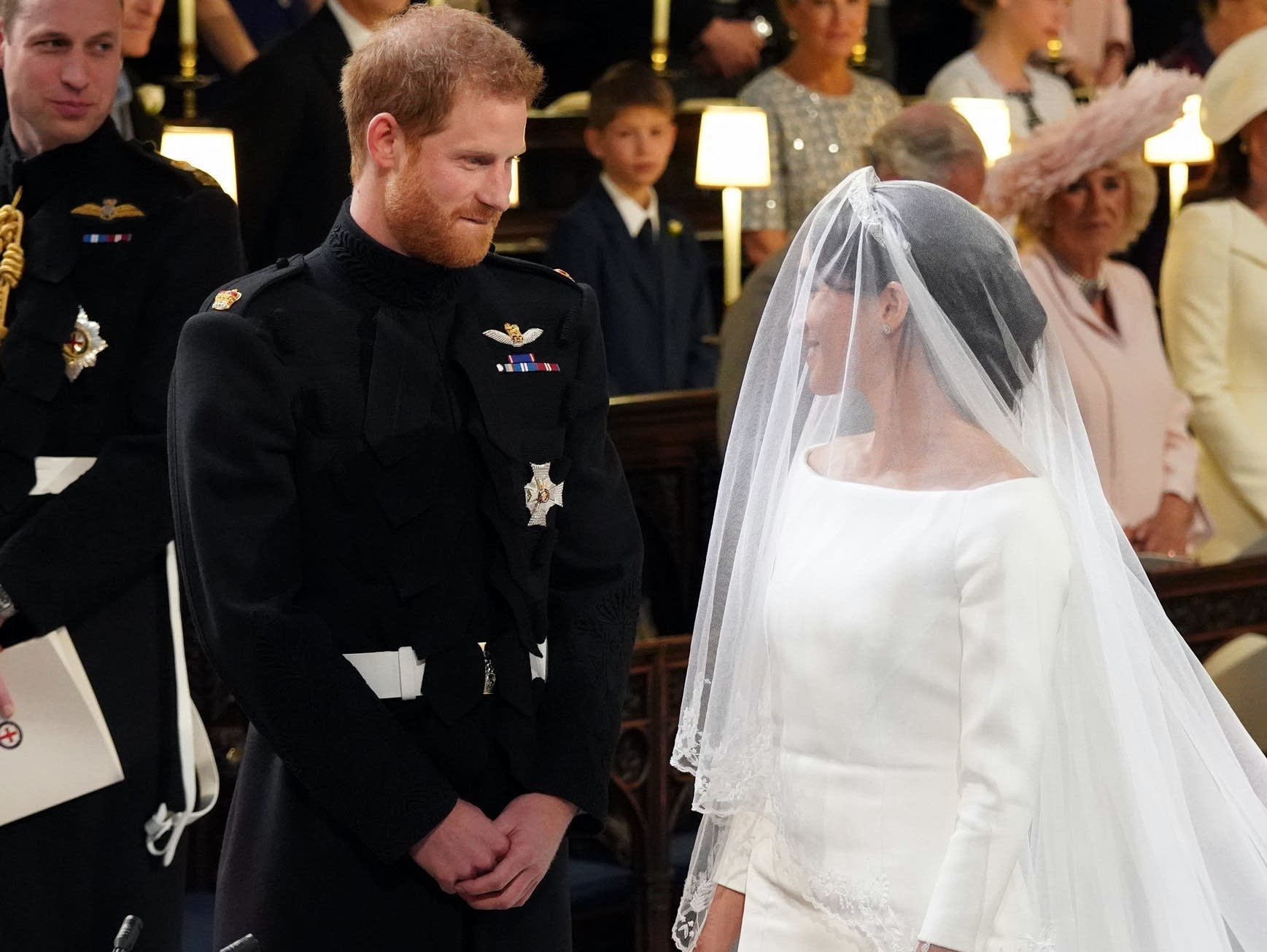Meghan Markle Wears Wedding Dress By Uk Designer Clare Waight