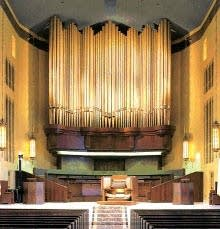1997 Schoenstein organ at First Plymouth Congregational Church, Lincoln, NE