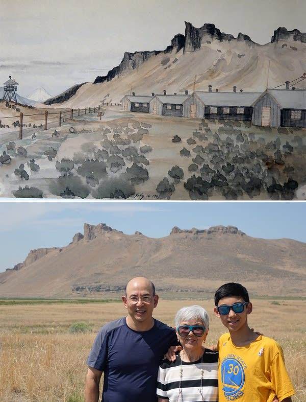 The Tule Lake internment camp site