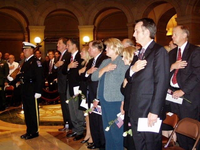 Capitol ceremony