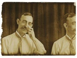 A self-portrait of Hugh Mangum.