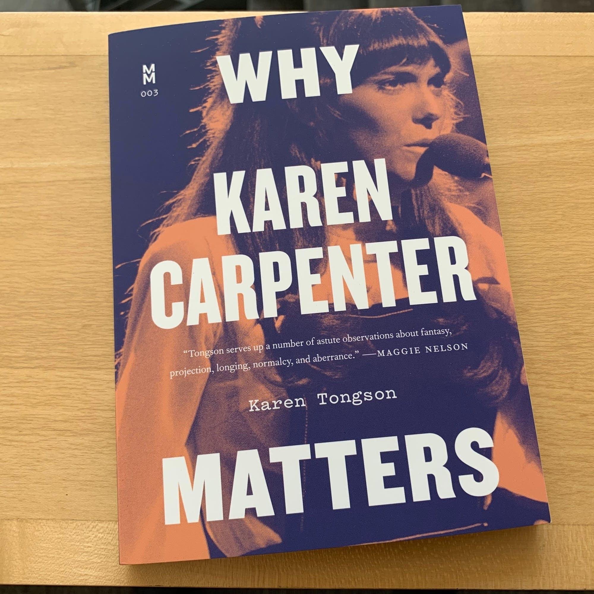 Karen Tongson's 'Why Karen Carpenter Matters.'