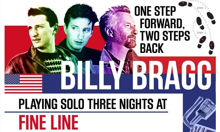 Billy Bragg - Fine Line graphic