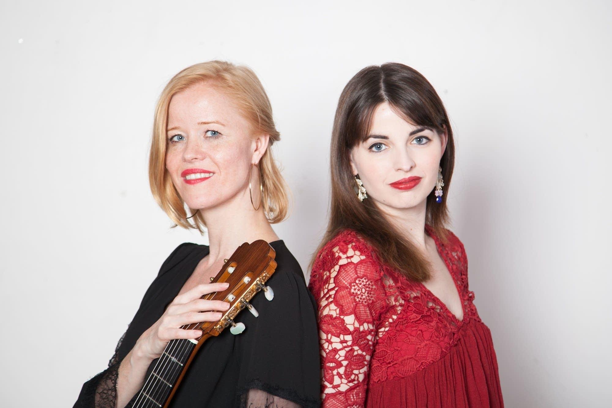 Eva Beneke and Nerea Berraondo