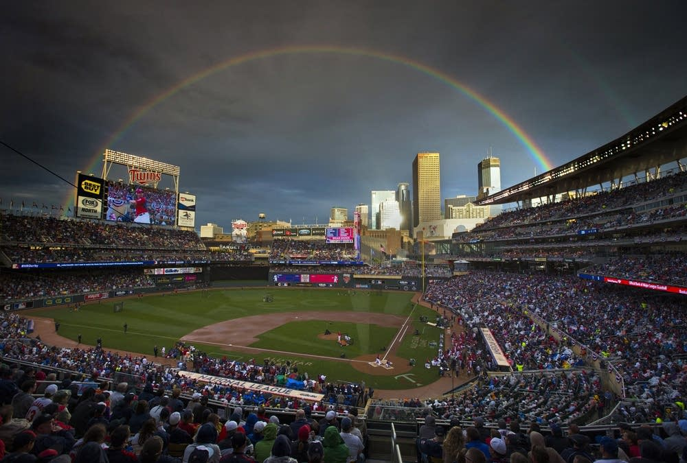 Target Field Home Run Derby