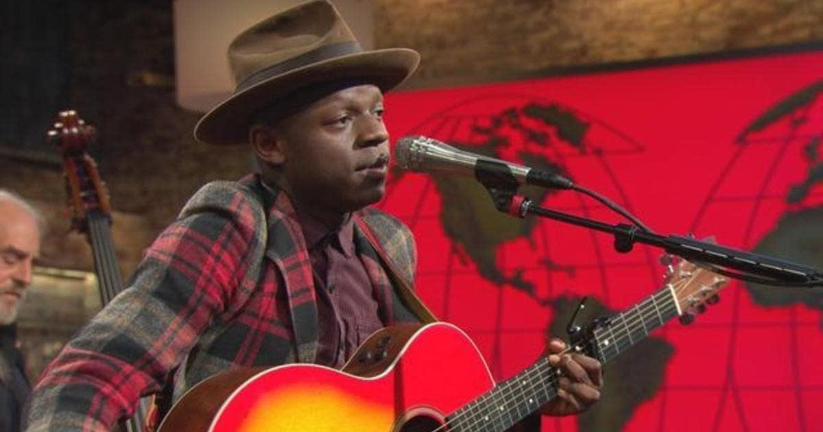JS Ondara performs on 'CBS This Morning' Saturday Sessions