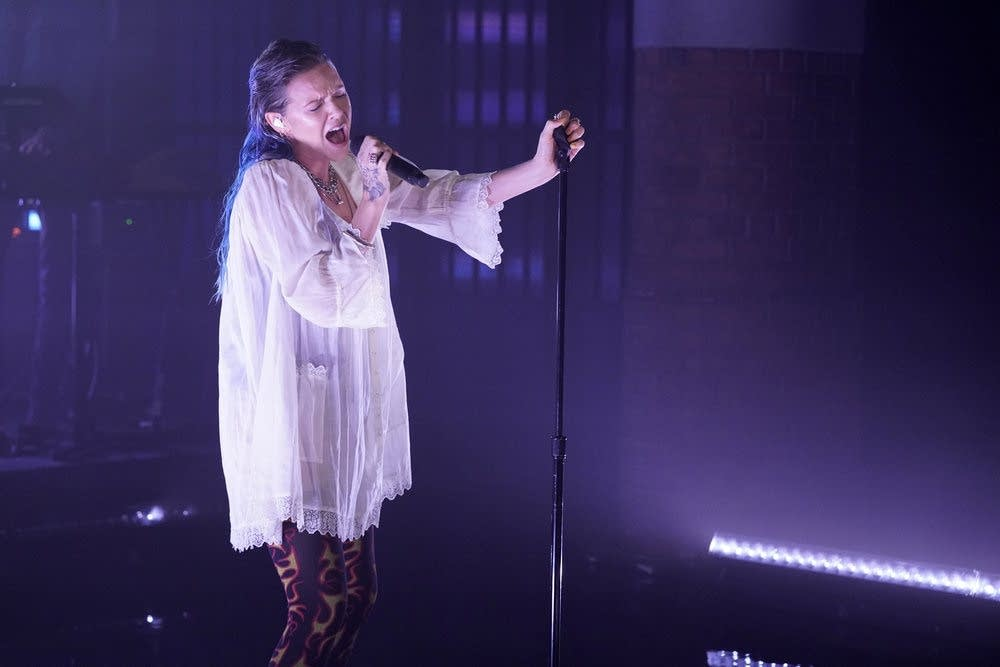 Tove Lo performs on 'Late Night with Seth Meyers'
