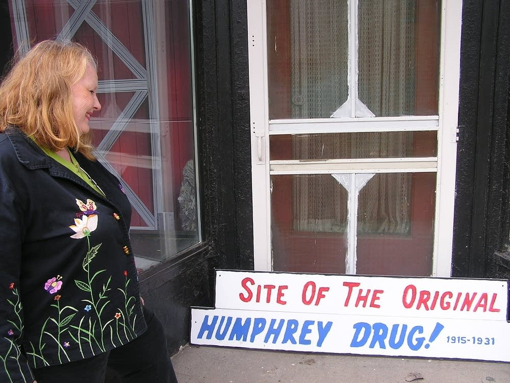 The Humphrey drug store
